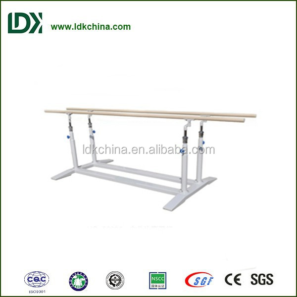 Deluxe indoor <strong>fitness</strong> and recreational facility adjustable gymnastics parallel bars for sale