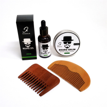 Wholesale sandalwood hair comb keep healthy anti-static wooden comb mens glooming beauty products beard trimmer comb
