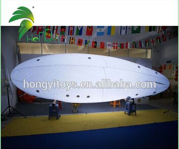 Outdoor RC Blimp , 6m Long Inflatable RC Helium Airship For Event