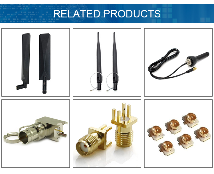 Factory Price Antenna Coaxial Cable U.FL/IPEX/MHF Female Male Connector 1.37 0.81/1.13MM Mini RF Cable Assembly