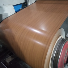 Wooden colour coated ppgi prepainted steel sheet in coil