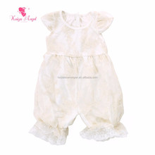 vintage ivory romper newborn toddler baby clothes