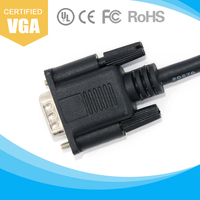 1080P VGA Male to VGA Male Video Cable for PC DVD HDTV TV