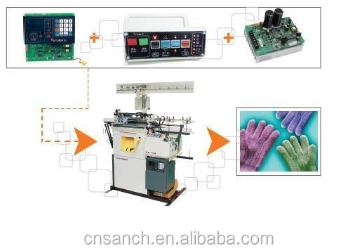 (distributors agent required) wide horse glove machine use 0.4kw, 0.75kw ac drive inverter for control system
