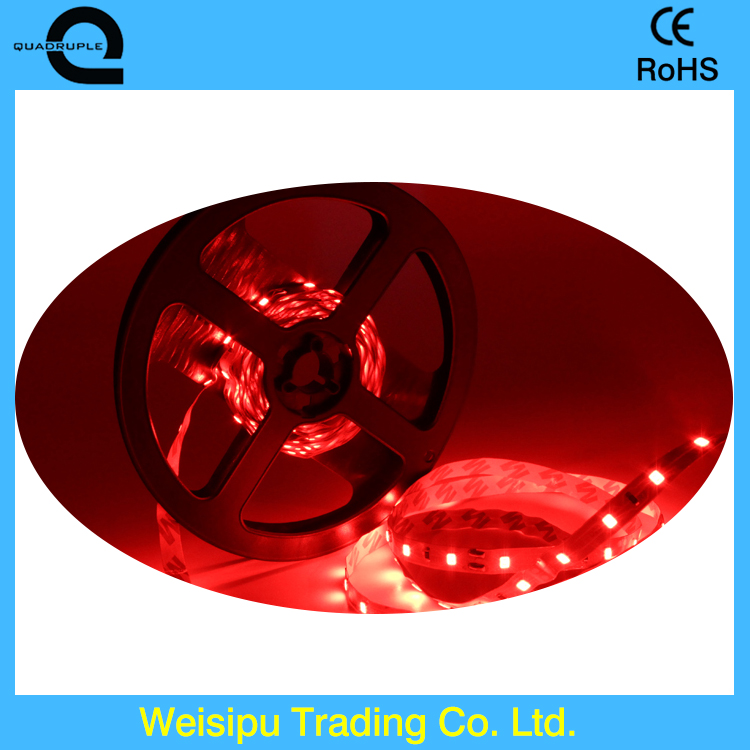 Best price 60 <strong>leds</strong> per meter DC 12V 24v Waterproof SMD 5050 2835 Flexible red color <strong>Led</strong> Strip Light
