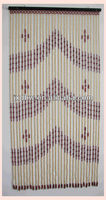Home Decorative String Wooden Beaded Curtain