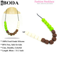 BoDa silicone fashion baby necklace