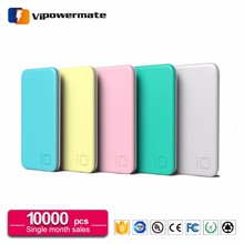 Long lasting high capacity miniso 10000mAh mobile phone ipower rohs power bank