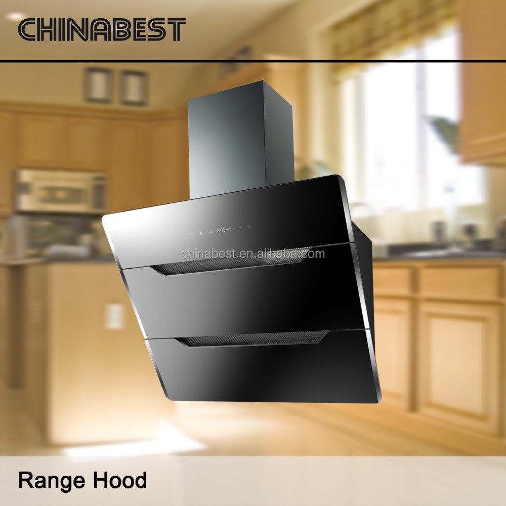 2016 powerful suction wholesale promotion side wall mounted range hood