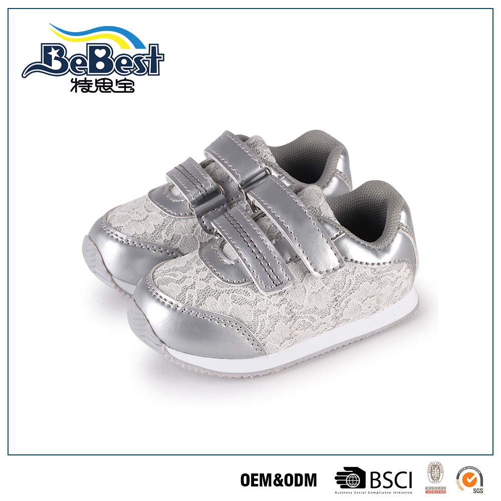 OEM brand name durable fashion fit kids shoes wholesale