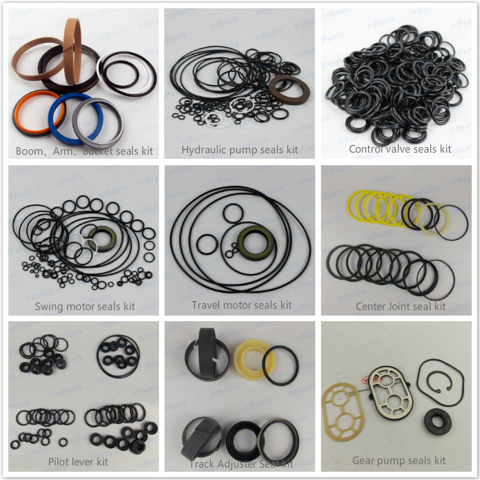 1878129801 Engine gasket kit 6HK1 engine parts Gasket kit complete set for Excavator ZAX330 ZX330-3G ZX330-5G high quality