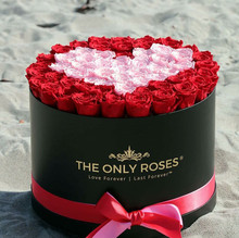 Newest wholesale customized round flower box/wedding favors gifts box