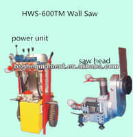 concrete road saw HWS-600TM hydraulic wall saw cutter