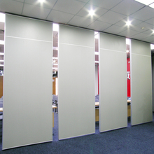 Operable Commercial Furniture Aluminum Frame Acoustic Room Divider for Office