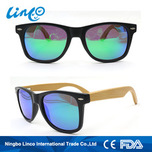 Latest Hot Selling!! top grade handmade wood and bamboo sunglasses