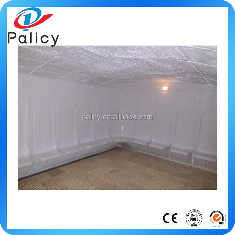 Fiberglass steam room for spa wet sauna equipment