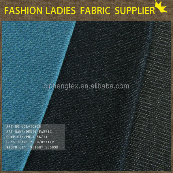 shaoxing textile top quality stripe denim fabric indigo blue denim denim fabric sourcing