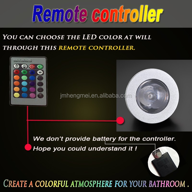 2016 Luxury Led Light Remote Control Rectangle Shower Head Set Ceiling Rainfall Mist Shower Set Safety Shower And Eye Wash