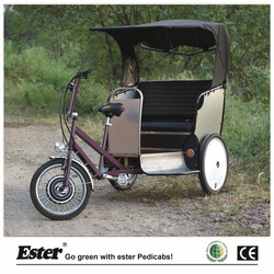 Electric Passenger Tricycle for Adults