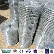 "1/2"" hot dip galvanized welded wire mesh/iron wire mesh"