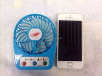 Best gift promotion for 2015 rechargeable powerful small mini usb fan with battery flexible USB Mini Cooling fan