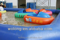 fancy park amusement rides water bumper boat equipment