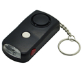 130DB Black SOS Emergency Personal Alarm for Elderly Students Night Workers Women Girls Safety Wolf Alarm