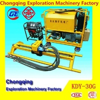 Hot Sale High Qualtiy Protable Mini KDY-30G Hydraulic Underpinning Drilling Machine