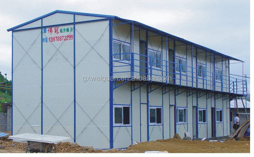 Flexible size Customized layout Prefabricated House Prices