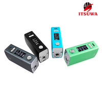 wholesale ecig variable voltage square box vape mod