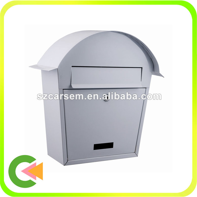 Wholesale metal Stainless Steel delivery box mailbox for parcel and mail
