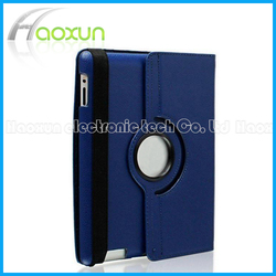High Quality 360 Degree Rotating Leather Case for iPad Cover With Stand And Automatic Wake/Sleep Function