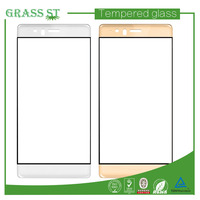 3D curved full cover tempered glass touch screen protector film for mobile phone