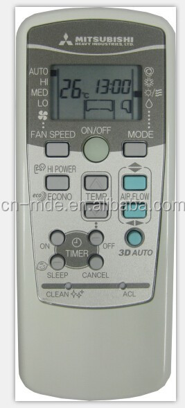 MITSUBISHI air conditioner remote controller 2014 new universal air condtioner remote control Voltas/Videocon AC remote control