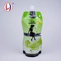 Reclosable Drink Liquid Storage Plastic Stand Up Compound Packaging Bags For Juice