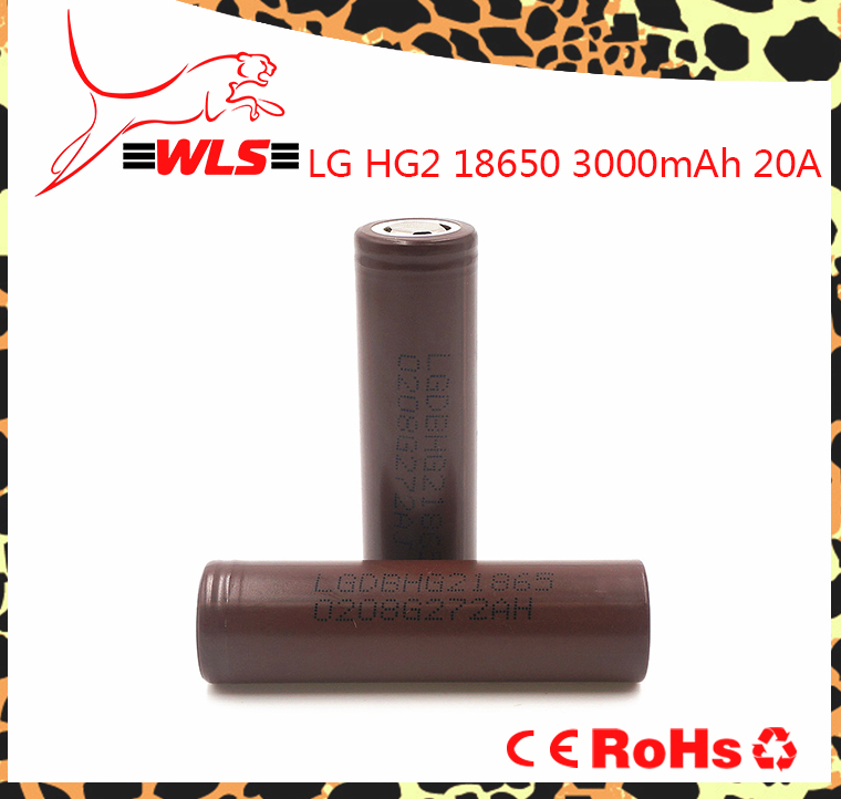 Wholesale Alibaba LG HG2 18650 3000mAh 20A LG HE2/HE4/HG2 18650 Electric Scooters Battery