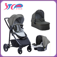 new arrival baby stroller 3 in 1 travel system baby stroller with car seat light weight small foled good baby car seat stroller