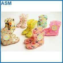 pvc uniform boots , wholesale girl rain boots galoshes jelly wellies