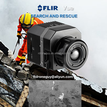Flir Tau2 multiple reading temperature infrared thermal gimbal camera professional drone flir thermal cameras