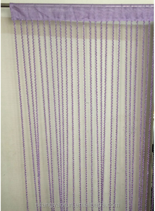 Cheap colorful polyester beads string curtains