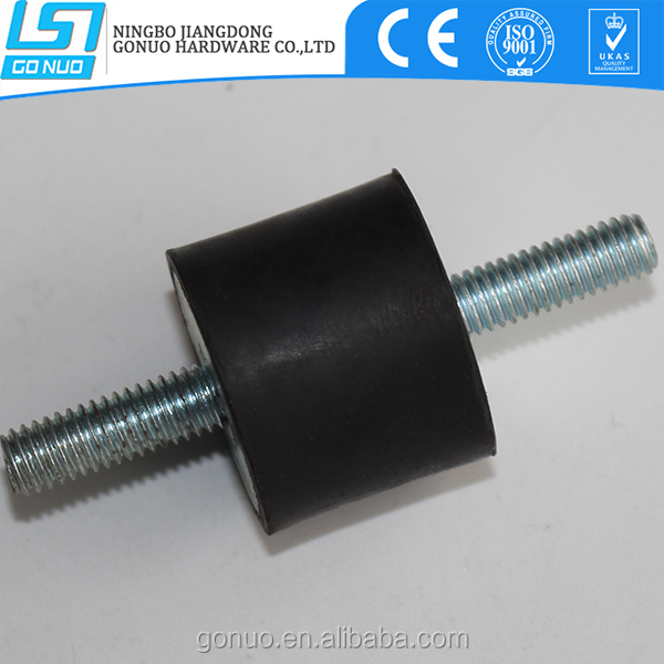Customized adjustable air conditioning exhaust rubber vibration damper