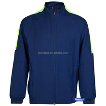 Make your own soccer team jacket customized own logo sponsor design top thailand quality jacket