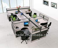 modern design metal frame office cubicle workstation desk