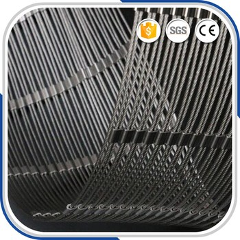 Eco-Friendly X-tend AISI316 Cable Wire Mesh Railing System