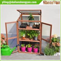 Wooden Plant Flower Potting Greenhouse Staging Table Bench