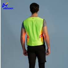 Hight Zichtbaarheid LED Veiligheid Reflecterende Security Guard Motorfiets vest