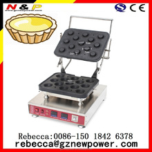 2016 best selling egg tart forming machine/ tartlet shell machine/egg tart waffle maker