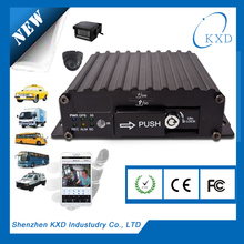 4 channel 3G vehicle DVR for oil tanker with real time GPS tracking and monitoring