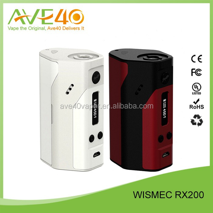 Wismec Original 200W Box Mod Wismec dna 200 Design By Jaybo Hottest Vape mods in 2015