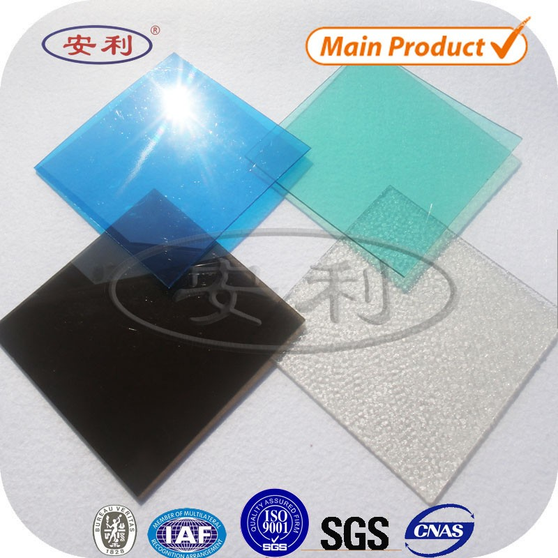 Anti impact transparent lowes polycarbonate panels roofing sheet